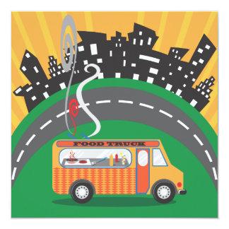 Food Truck Block Party Invitations