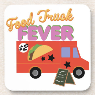 Food Truck Fever Beverage Coaster