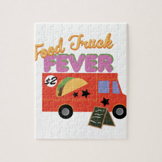Food Truck Fever Jigsaw Puzzle