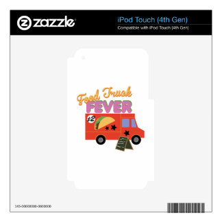 Food Truck Fever Skins For iPod Touch 4G