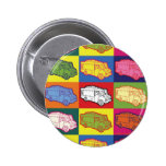 Food Truck Pop Art Buttons