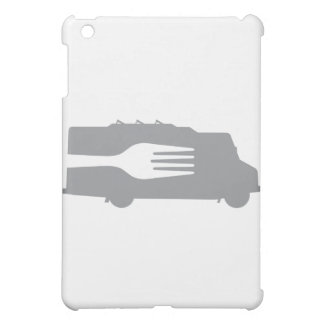 Food Truck: Side/Fork (Gray) Cover For The iPad Mini