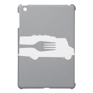 Food Truck: Side/Fork (Gray) iPad Mini Cover