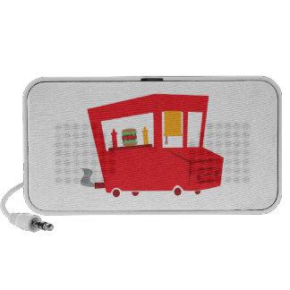 Food Truck Notebook Speaker