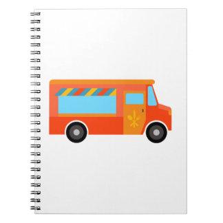 Food Truck Spiral Notebook