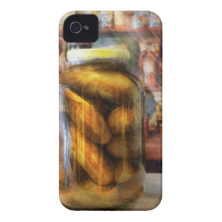 Food - Vegetable - A jar of pickles iPhone 4 Case-Mate Case