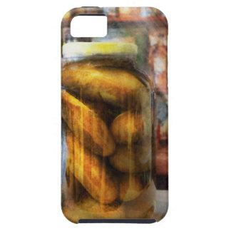 Food - Vegetable - A jar of pickles iPhone SE/5/5s Case