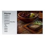 Food - Vegetable - Garden variety Business Card