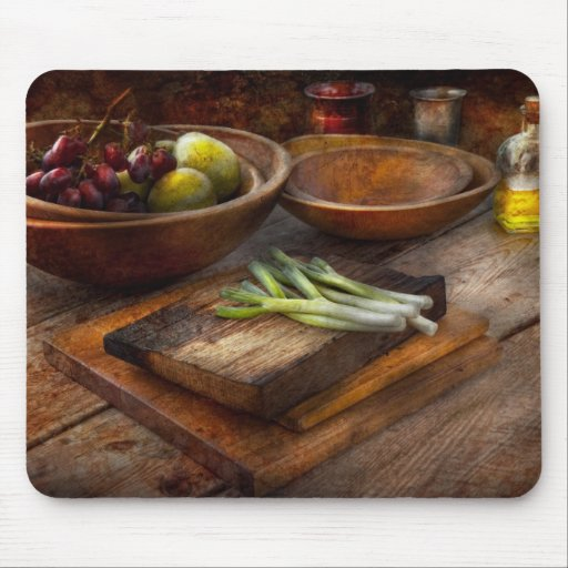 Food - Vegetable - Garden variety Mouse Pad