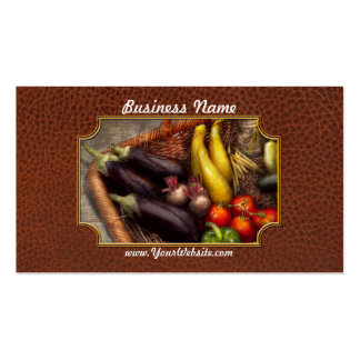 Food - Vegetables - From mother s garden Business Cards