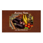 Food - Vegetables - From mother's garden Double-Sided Standard Business Cards (Pack Of 100)