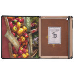 Food - Vegetables - Sweet peppers for sale iPad Folio Case