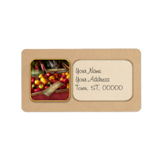 Food - Vegetables - Sweet peppers for sale Label