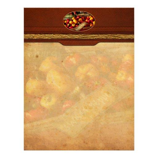 Food - Vegetables - Sweet peppers for sale Custom Letterhead
