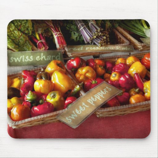 Food - Vegetables - Sweet peppers for sale Mouse Pads