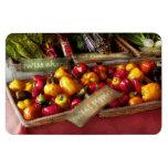 Food - Vegetables - Sweet peppers for sale Vinyl Magnets