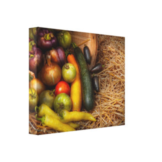 Food - Vegetables - Very early harvest Stretched Canvas Prints
