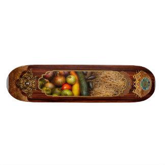 Food - Vegetables - Very early harvest Skateboard