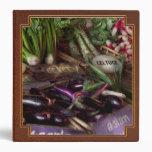 Food - Vegetables - Very fresh produce Vinyl Binders
