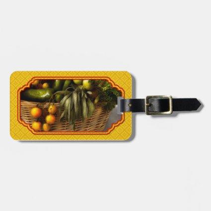 Food - Veggie - Sage advice Travel Bag Tag