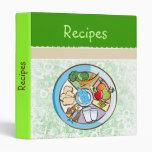 Food Wheel - green binder