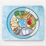 Food wheel - mousepad