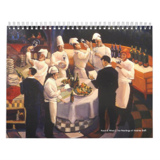 Food & Wine | The Paintings of Andrea ... Calendar