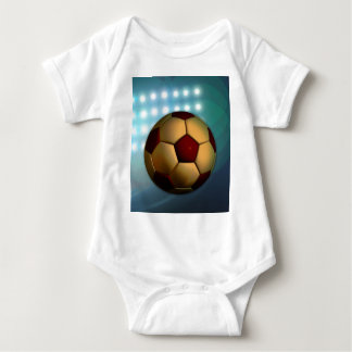 Foodball goal score and success baby bodysuit
