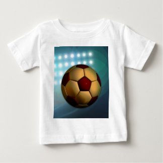 Foodball goal score and success infant t-shirt