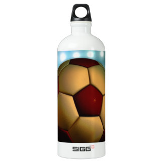 Foodball goal score and success SIGG traveler 1.0L water bottle