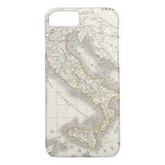 Foodie del italiano del mapa de Italia del Viejo Funda iPhone 7