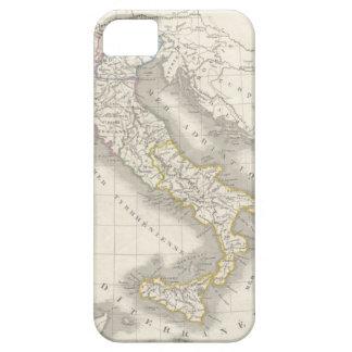 Foodie del italiano del mapa de Italia del Viejo iPhone 5 Carcasas
