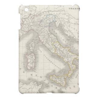 Foodie del italiano del mapa de Italia del Viejo M iPad Mini Fundas