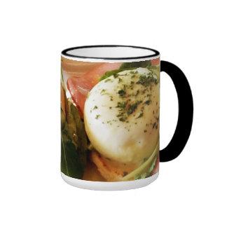 Foodie - Eggs Benedict Ringer Mug