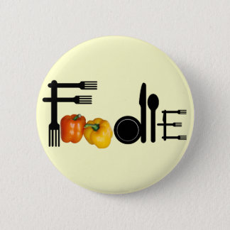 Foodie For Light Background Button