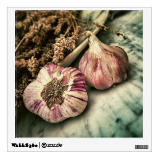 Foodie / Garlic wall decal