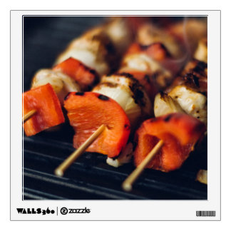 Foodie / Grilling wall decal