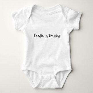 Foodie In Training Baby Bodysuit