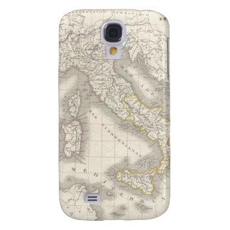 Foodie italiano fresco del mapa de Italia del Viej Funda Para Galaxy S4