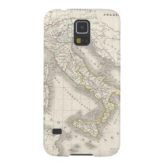 Foodie italiano fresco del mapa de Italia del Viej Funda De Galaxy S5