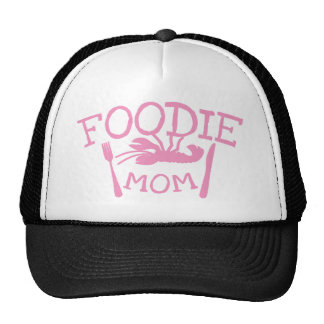 Foodie MOM with lobster on a plate Trucker Hat