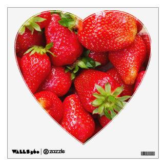 Foodie / Strawberries wall decal
