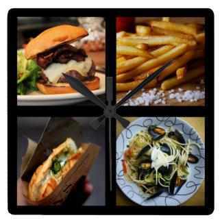 Foodie wall clock 1