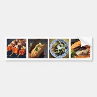 Foodie / YOUR PHOTOS custom bumpersticker Bumper Sticker