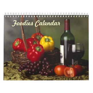 Foodies Calendar 2015 Wall Calendars