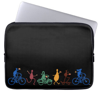 Foodies on the Go Laptop Sleeve