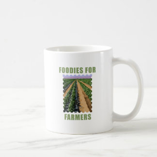 Foodies para los granjeros tazas