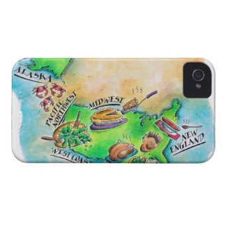 Foods of the USA iPhone 4 Case