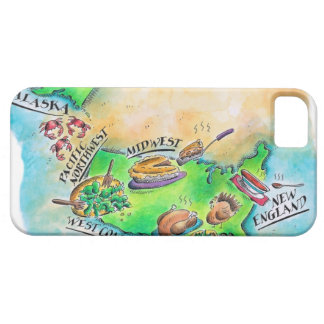 Foods of the USA iPhone 5 Case