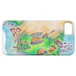 Foods of the USA iPhone SE/5/5s Case